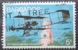 Poštovní známka Barbados 1973 První letadlo na Barbadosu Mi# 353