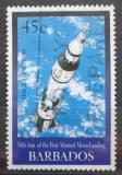 Poštovní známka Barbados 1999 Průzkum vesmíru Mi# 957