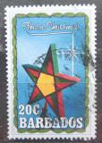 Poštovní známka Barbados 1990 Vánoční hvězda Mi# 766
