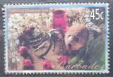 Poštovní známka Barbados 2002 Vánoční dekorace Mi# 1042