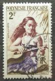 Poštovní známka Francouzská Polynésie 1958 Kytaristka Mi# 4