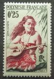 Poštovní známka Francouzská Polynésie 1958 Kytaristka Mi# 2