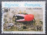 Poštovní známka Francouzská Polynésie 1986 Krab Mi# 442