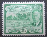 Poštovní známka Svatý Kryštof 1952 Warner Park Mi# 101