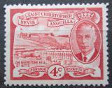 Poštovní známka Svatý Kryštof 1952 Brimstone Hill Mi# 103