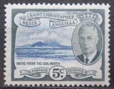 Poštovní známka Svatý Kryštof 1952 Nevis Mi# 104