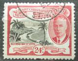 Poštovní známka Svatý Kryštof 1952 Záliv Old Road Bay Mi# 107