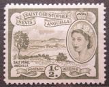 Poštovní známka Svatý Kryštof 1956 Salt Pond Mi# 113