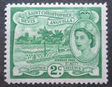 Poštovní známka Svatý Kryštof 1954 Warner Park Mi# 115