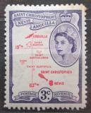 Poštovní známka Svatý Kryštof 1954 Mapa Mi# 116
