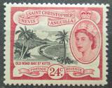 Poštovní známka Svatý Kryštof 1954 Záliv Old Road Bay Mi# 122