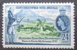 Poštovní známka Svatý Kryštof 1957 Alexander Hamilton Mi# 128