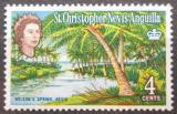 Poštovní známka Svatý Kryštof 1963 Lázně Nelson's Spring Mi# 142