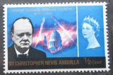 Poštovní známka Svatý Kryštof 1966 Winston Churchill Mi# 160