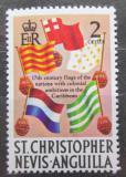 Poštovní známka Svatý Kryštof 1970 Vlajky Mi# 201