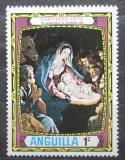 Poštovní známka Anguilla 1970 Vánoce, umění Mi# 114