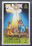 Poštovní známka Anguilla 1972 Vánoce Mi# 162