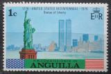 Poštovní známka Anguilla 1975 Socha svobody v New Yorku Mi# 217