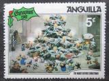Poštovní známka Anguilla 1981 Vánoce, Disney Mi# 454