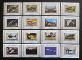 Poštovní známky Umm al-Kuvajn 1972 Letadla DELUXE Mi# 1274-89 Kat 32€