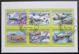 Poštovní známky Guinea 2011 Letadla Mi# 9039-44 Kat 32€