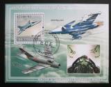 Poštovní známka Mosambik 2009 Vojenská letadla Mi# Block 257 Kat 10€