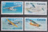 Poštovní známky Kanada 1982 Letadla Mi# 849-52
