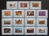 Poštovní známky Umm al-Kuvajn 1972 Letadla DELUXE Kat 30€