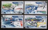 Poštovní známky Maledivy 2013 Letadla Mi# 4498-4501 Kat 11€