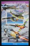 Poštovní známka Džibutsko 2015 Válečná letadla Mi# N/N