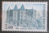 Poštovní známka Francie 1982 Zámek Pau Mi# 2333