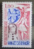 Poštovní známka Francie 1982 Loutky Mi# 2354