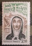 Poštovní známka Francie 1982 Terezie od Ježíše Mi# 2369
