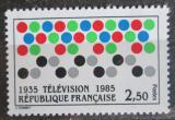Poštovní známka Francie 1985 Televize ve Francii, 50. výročí Mi# 2478