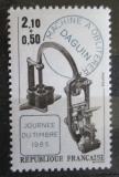 Poštovní známka Francie 1985 Starý razítkovací stroj Mi# 2492