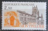 Poštovní známka Francie 1985 Katedrála v Montpellier Mi# 2493