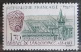 Poštovní známka Francie 1985 Opatství Landévennec, 1500. výročí Mi# 2496