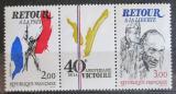 Poštovní známky Francie 1985 Vítězství, 40. výročí Mi# 2499-2500
