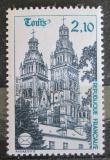 Poštovní známka Francie 1985 Katedrála St. Gatien v Tours Mi# 2501