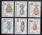 Poštovní známky Francie 1982 Brouci, doplatní Mi# 106-11