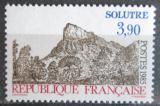 Poštovní známka Francie 1985 Skála Solutré Mi# 2518
