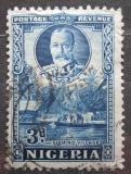 Poštovní známka Nigérie 1936 Rybářská vesnice Mi# 35 A