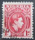 Poštovní známka Nigérie 1941 Král Jiří VI. Mi# 47 b