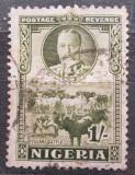 Poštovní známka Nigérie 1936 Stádo skotu Mi# 38 Kat 14€