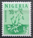 Poštovní známka Nigérie 1961 Podzemnice olejná Mi# 92