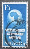 Poštovní známka Nigérie 1962 Mapa Afriky Mi# 118