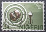 Poštovní známka Nigérie 1964 LOH Tokio, boxerské rukavice Mi# 156