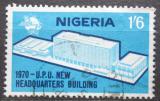 Poštovní známka Nigérie 1970 Budova UPU v Bernu Mi# 234