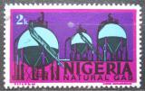 Poštovní známka Nigérie 1975 Zemní plyn Mi# 274 II X