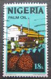 Poštovní známka Nigérie 1973 Výroba palmového oleje Mi# 282 I Y